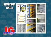 Estantes, góndolas y estructuras metálicas especiales en TodoMetales JG
