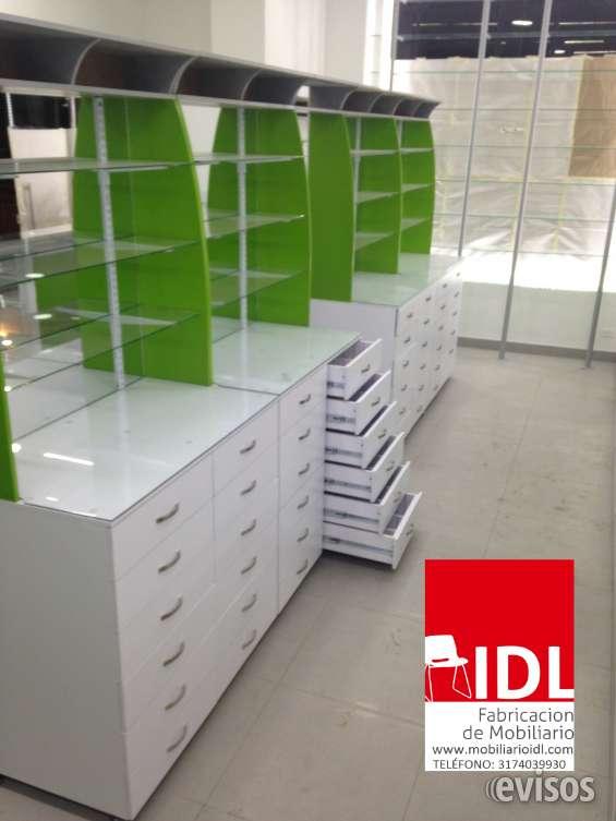 Mostradores farmacia mostrador vitrina para farmacia for Muebles para farmacia