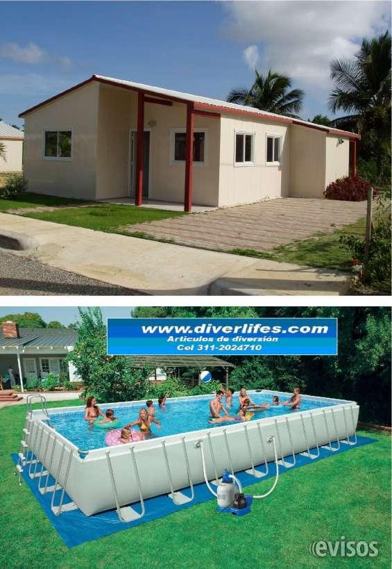 Casas con piscina lescala ue casas piscina privada ue for Precios de piscinas prefabricadas en colombia