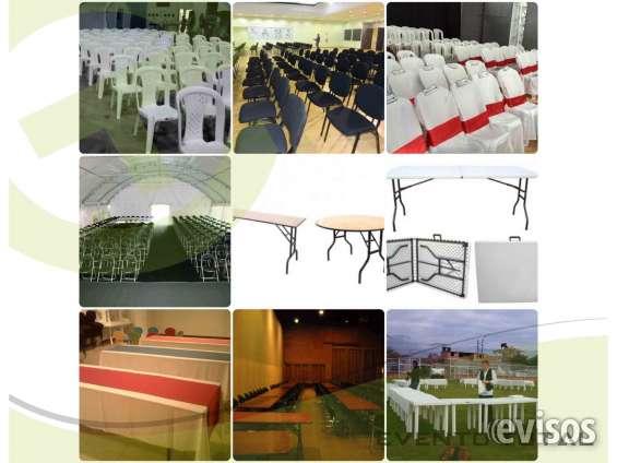 Alquiler de muebles para eventos en Bogotá, Colombia - Otros Servicios