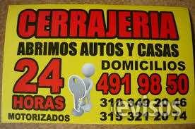 Cerrajeria bogota  4919850