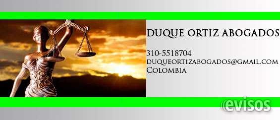 Duque ortiz  abogados en manizales whatsapp: 3105518704 duque ortiz abogados – asesoria juridica teléfono: 310-5518704  duqueortizabogados@gmail.com  www.duqueortizabogados.wix.com/inicio   contamos con abogados especialistas en las diferentes áreas del d