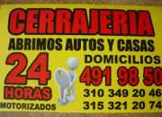 CERRAJEROS BOGOTA DOMICILIOS 311-5052789
