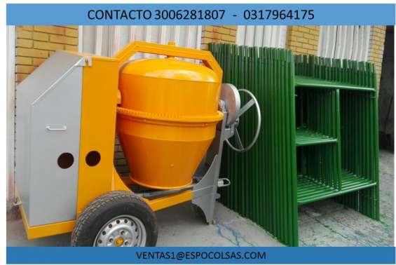 Mezcladoras para cemento - trompos