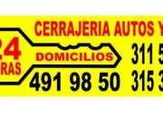 CERRAJERIA UNICENTRO   DOMICILIOS 24 HORAS  4919850