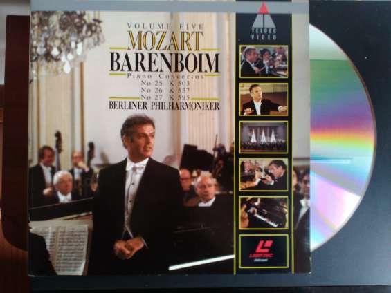 Conciertos de música clásica en video laser como nuevos!!!