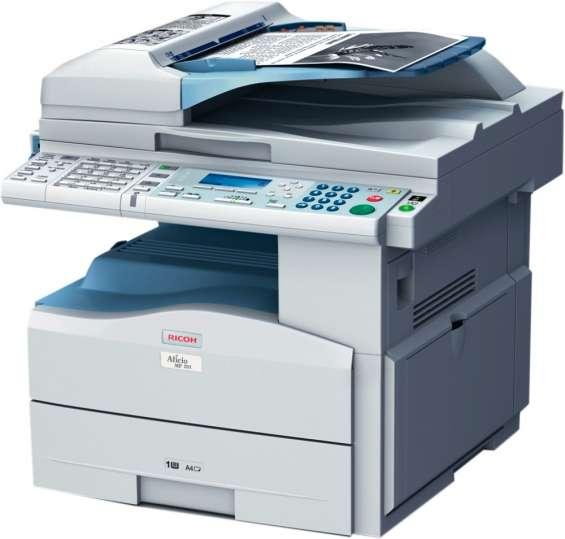 Mantenimiento y reparación fotocopiadoras ricoh