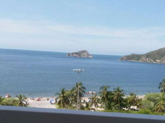 Alquiler de apto vista al mar para pasar las vacaciones en santa marta