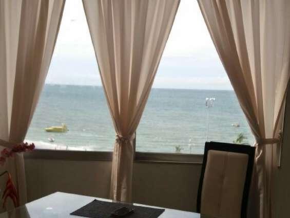 Apto penthouse rodadero con balcón vista al mar en santa marta