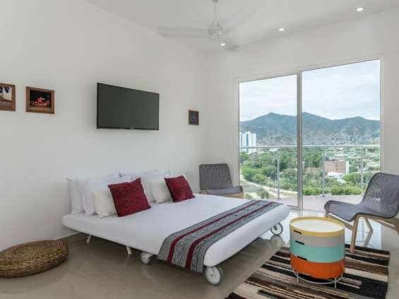 Apartamento con vista al mar disfrutando las maravillas de santa marta
