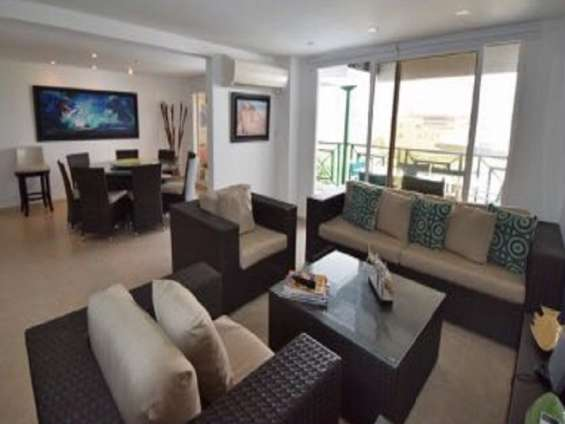 Alquiler de apartamento penthouse privado en san andrés para familias