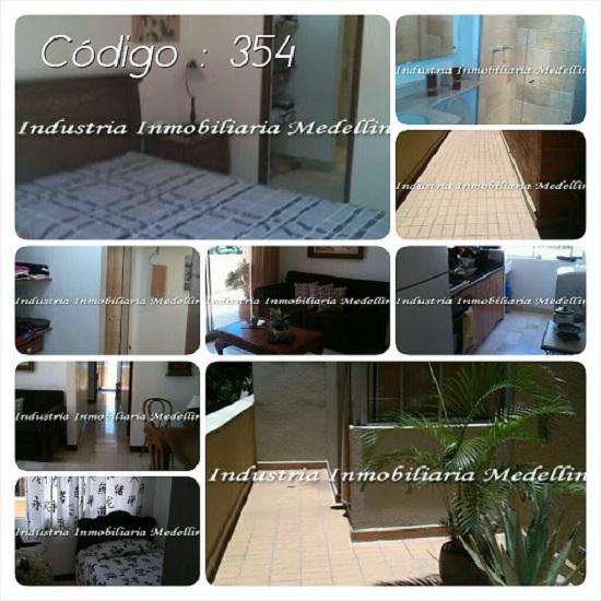 Alquiler de apartamentos amoblados en medellín - código: 354