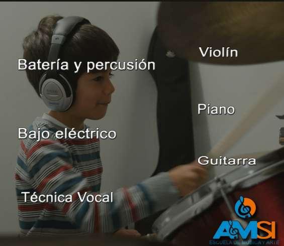 Clases de todos los instrumentos - academia de enseñanza musical