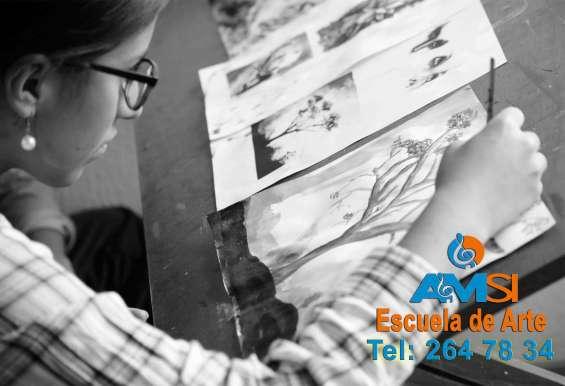 Pintura para niños y jóvenes – salitre. cursos de dibujo artístico