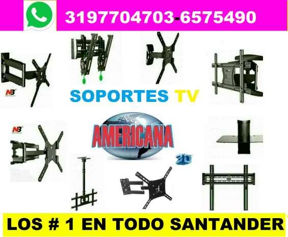 Soportes para televisores en bucaramanga , floridablanca , giron y piedecuesta