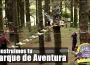 Construimos parques de aventura, puentes colgante…