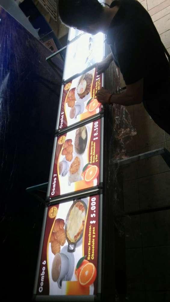 Fotos de Letreros publicitarios de alto impacto en acrílico volumetrico en led 9