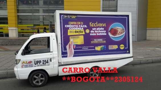 Fotos de Servicio de carro valla solo en bogota 2305124 3