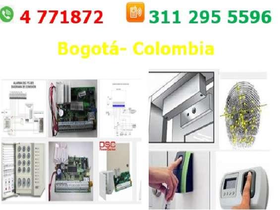 Servicio técnico alarmas, sistema de alarmas dsc, control de acceso pegasus,