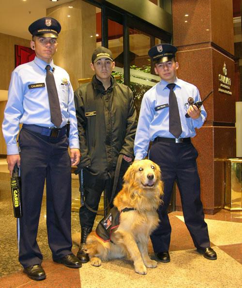 Vigilancia fija y canina