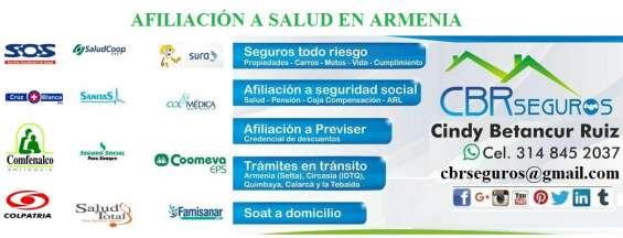 Afiliación a seguridad social a domicilio