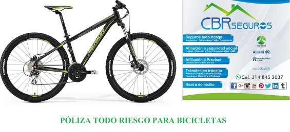 Seguro o poliza para bicicletas