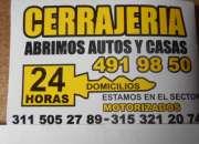 CERRAJERIA CEDRITOS DOMICILIOS 311-5052789