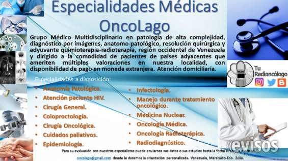 Especialidades médicas oncolago
