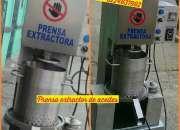 PRENSA EXTRACTORA DE ACEITES DE ALMENDRAS
