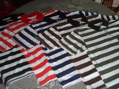 Vendo camisetas tipo polo