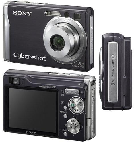 Remato cámara digital sony cyber-shot dsc-w90