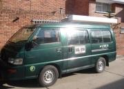 Camioneta escolar mitsubishi l300 , 2002, publica, gas