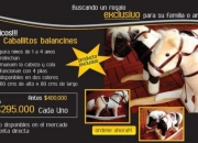 Producto Exclusivo: Caballitos Balancines
