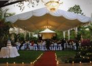 Alquiler de carpas decoradas gigantes para matrimonio