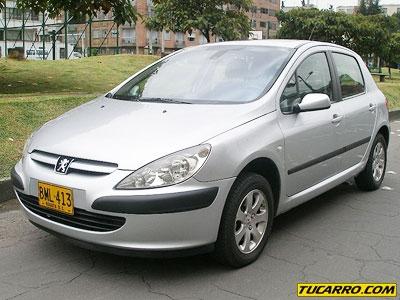 Peugeot 307 xt modelo 2002 kmt 70.000 perfecto estado