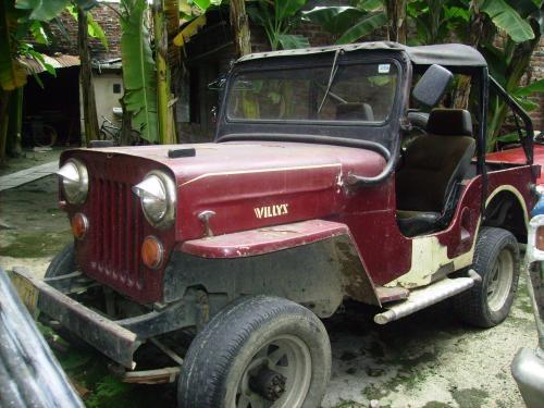 Vendo jeep marca willys en buen estado