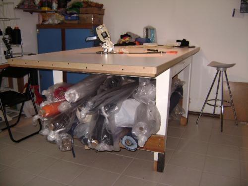 Vendo mesa de corte