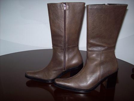 liberar información sobre descuento en venta Venta botas elegantes para dama 100% cuero diseño con estilo
