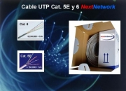 Cable UTP categoria 5e y 6 Next Network