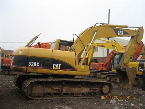 Vendo excavadora carterpila 320lc usada