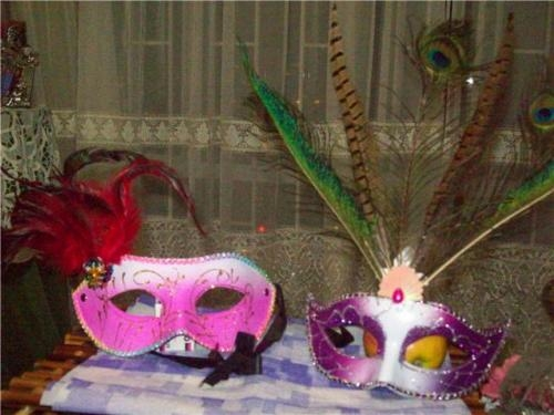 Antifaces, mascaras, accesorios show carnaval