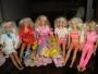 vendo 12 muñecas barbie con su lancha y jeep.