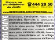 ABOGADOS EN INMOBILIARIO, URBANISMO Y CONSTRUCCION - BOGOTA - MEDELLIN ? ASESORIA LEGAL EN TODA COLOMBIA