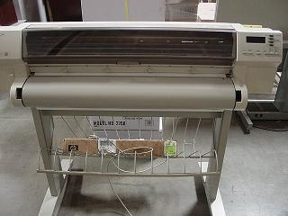 Plotter hp 750c plus