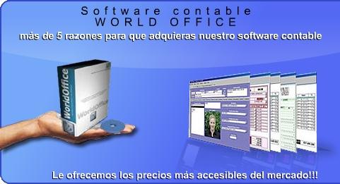 World office - software contable de ultima tecnologia