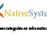 Dicto Cursos de Sistemas en Cualquier Area NATIVE SYSTEMS