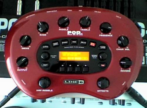 Vendo line 6 pod xt + footswitch fbv express