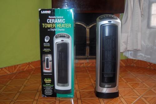 Calefaccion/calefactor electrico tipo torre giratorio