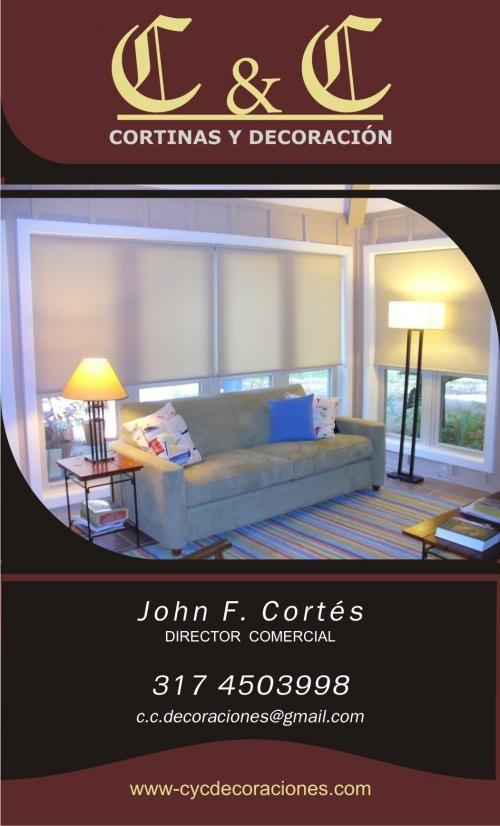 C & c decoraciones. cortinas y persianas
