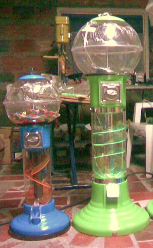 Maquinas de dispensar chicles o dulces